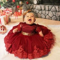 Carnaval Infantil 1er vestido de cumpleaños para niña ropa de lentejuelas princesa vestidos fiesta bautismo ropa 0 1 2 años niña