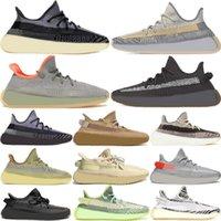 Basketbol Koşu Ayakkabı Kilit Çöl Keten Toprak Gri Sakız Chaussure Siyah Statik Yansıtıcı Kadın Erkek Tasarımcı Sneakers ile Kutusu 36-48