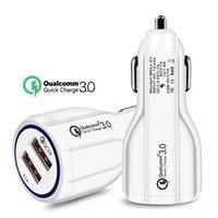 En Kaliteli QC 3.0 Hızlı Şarj 3.1A Hızlı Şarj Araç Şarjı İkili USB Hızlı Şarj Telefon Şarj Cihazı Tüm Cep Telefonlarına Uygulanabilir, Cihaza Taşı