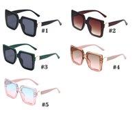 Женщина мода открытый ветер солнцезащитные очки библиотекарь стекло вождение солнцезащитные очки леди большая рамка пляжная защита ослепительный солнцезащитный розовый допс