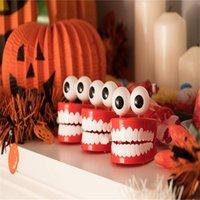 Divertidos dientes grandes Clockwork Creative Novelty Juguetes para niños Troques Especial Tricky Desktop Decoration Toy