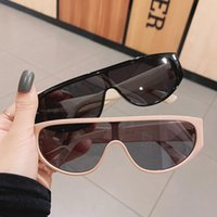 선글라스 패션 원피스 여성 레트로 라운드 금속 스트립 장식 브랜드 디자인 안경 남성 음영 UV400 트렌드 태양 안경