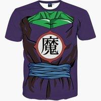 Camisetas de moda y de moda para hombres Nueva camiseta Hip Hop Tops de manga corta Tops 3D T-shirt Impresión divertida Michael Jackson Slim Summer Teeses