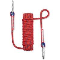 Cuerdas, Eslingas y correas Calzado al aire libre Seguridad de la roca de la cuerda con la hebilla Mosquetón (10M, 32 pies)