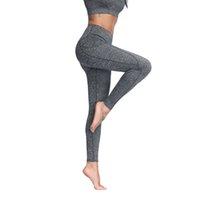 Womens 요가 바지 러닝 바지 스타킹 배가 통제 운동 4 웨이 스트레치 요가 레깅스가 주머니가있는 높은 허리가있는