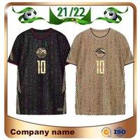 2021 Versione giocatore Egitto Golden Soccer Jersey 21/22 m.salah Training Suit Shirt A. Hegazi Kahraba Ramadan M.ELNENY Uniformi di calcio