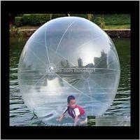 كرات الرياضة المشي المتداول بالون المياه zorb الكرة نفخ الهامستر الإنسان البلاستيك fede o1bbh d15o6