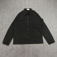 Casual Zipper Jacket Street Outdoor Fashion Sports Vestiti da uomo Multi Pocket Shirt and Coat European American Brand