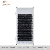 Dal 1990 16011 0,12 dello spessore singole ciglia ciglia maquiagem cilios per professionisti prolunga di visone soft1