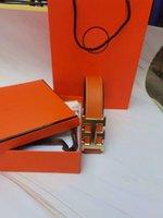 أعلى مصمم الرجال الفاخرة h الإبزيم حزام الأعمال السلس الأزياء حزام مربع 91DK