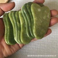 Stones Rocks Mas Health & Beautyjd010 Natural Xiuyan Stone Green Guasha Gua Sha Board Masr For Scrap Therapy Jade Roller 3Ebot Bl5Fs 74Ojd E
