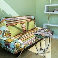 Woonkamer meubels schattig artisasset mozaïek ronde terras accent mini tafel met gekleurde glazen groene bloemen patroon fit elke ruimte