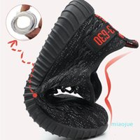 Lightweight Steel Toe Safety Shoes for men Summer Anti-smashing Piercing Work Shoes Sandals Mesh Sneakers Men Safety Boots
