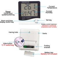 휴대용 디지털 LCD 실내 편리한 온도 센서 습도계 온도계 습도계 게이지 GWD9698