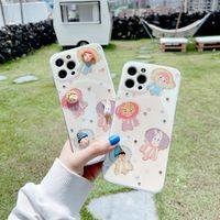 3D Clown Bunny Soft TPU Custodie telefoniche per iPhone 12 11 Pro Promax XS Max 8 Plus Custodia