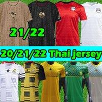 21/22 Egitto Jerseys M.salah # 10 South Soccer Africa Ghana Tunisia Jersey fan Giocatore Versione 2021 2022 New National Team Home Away Thait Men Kit Kit Camicie da calcio Thai