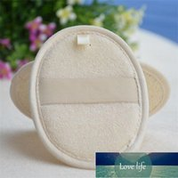 Soft Exfoliating Natural Loofah Sponge Strap Bath Handle Pad Shower Massage Scrubber Brush Skin Body Bathing Spa Washing Accessories OWA5929