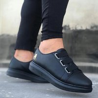 2021 retro casual Outdoor breathable sports shoes men's PU leather fashion loafers walking Tenis Feminino