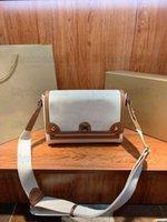 Branded Crossbody Designer Tote Bag Luxurys Taschen Handtasche Schulter_bagnote HorseFerry Print Braun Leinwand Unterschrift Italien Denim Damen Kreuz B
