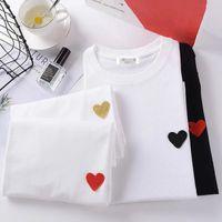 20s uomo Tshirt donna manica corta alta qualità Tops moda lettera stampa hip hop vestiti stile con tag scatola