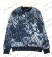 2021 Herbst und Winter berühmter neuester Buchstabe Camouflage gedruckt Gestrickter Pullover Luxus Pariser Mode Herren Designer Hochwertige Weichwolle Herrenpullover