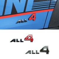 Araba Sticker Amblem BMW Mini Cooper Için Toptan 4 Logo Cooper Countryman Paceman Coupe R52 R50 Mini Roadster JCW Oto Vücut Çıkartması Dekorasyon