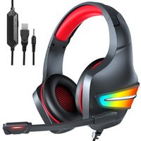 Headset Over-Ear Wired Game Earphones Gaming Headphones Deep Bass Stereo With Microphone For PS4 Xbox PC Laptop Gamer
