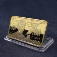 Trump Gedenkmünze Amerikanische Wahlbedarf Metallbullion Medal Medaillen Donald Trump Crafts Collection DHL GYQ