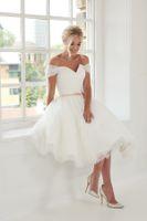 2021 Платье выпускного вечера Tulle Mid-Pressparty Платье Одно слово Короткие юбки на молнии Формальные вечерние платья