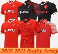 20 21 Galler Halı Milli Takım Tarafından Formalar Cymru Home Kırmızı Uzakta M en Polo T-Shirt E Erkekler Rugby Eğitim Jesery Üniformaları S-5XL