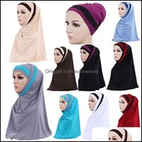 Beanies Headwears Athletic Outdoor As Sports & Outdoorsbeanies Women Inner Hijabs Cap Muslim Head Scarf Turbanfashion Print Flowers Bonnet R