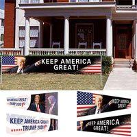 США сток хранят Америку Великолепный флаг 296x48cm Trump 2020 Президентские выборы баннер Трамп Флаг Кампании DHL Бесплатный корабль