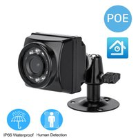 Cameras IMX307 5MP XMeye Outdoor POE IP Camera Wide Angle Face Audio Waterproof Infrared Night Vision Video Surveillance Security