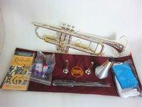 Bach Stradivarius LT180S-72 Trompete Authentische doppelte Silber Überzogene B Flache Professionelle Trompete Top Musikinstrumente Messing