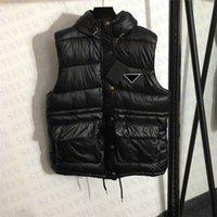 Uomo Donna Gilet Down Coat With Triangle Badge Senza maniche Designer Designer Giacche invernali Tenere cappotti di tuta sportiva calda