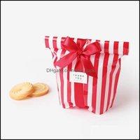 Wrap Event Presure Home Garden10pcs / lot Candy Cookie Peakie Public Подарочная полоса Biscuit Heat Bute Bag Для DIY Самоклеящийся Чешельник Свадьба Свадьба