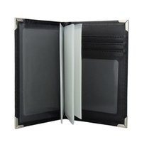 Card Holders PU Leather Paspoort Cover Case Holder Purse Travel Passport Driver Licens Bag Car Driving Documents Business
