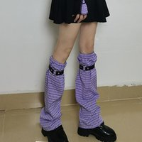 Плед JK Lolita Sweet Girl Head The 2021 Hipster Student Streetwear Talf Длина Регулируемая ремешок Stread Curry Sock Socks Hosiery