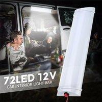 Аварийные огни 12V светодиодные внутренние крыши Потолочный светильник для RV Camper Trailer Motorhome Van Lamp лампы оптом CSV