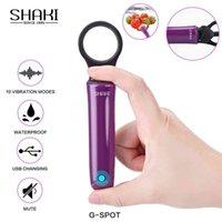 Recarregável Mini Bala Vibrador Usb Charge 10 Velocidade Forte Vibração G Spot Stimulator Clitoral Sexo Brinquedos para Mulheres / Iniciantes Y201118