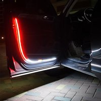 interiorexternal lights 자동차 도어 LED 스트로브 라이트 안전 경고 스트립 KIA SID RIO SOUL Sportage Ceed Sorento Cerato K2 K4 K5