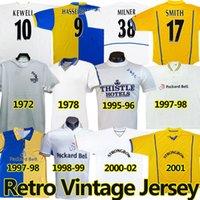 Hasselbaink Leeds Retro Futbol Formaları 1972 78 95 96 97 98 99 00 01 02 United Klasik Antik Futbol Gömlek Smith Kewell Hopkin Batty Milner Keane Vintage Jersey
