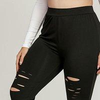 40 Leggings Sans soudure Femmes Sexy Pant Pant à la taille haute Plus Taille Sports élastiques Fitness Pantalon Casual Contempelant legging