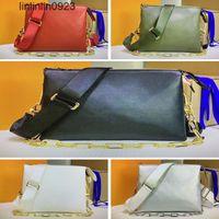 M57790 pm coussin m57783 mm luxo mulheres bolsa de ombro designer crossbody bolsas embreagem embreagem de couro travesseiro bolsa de bolsa Baguette Axil