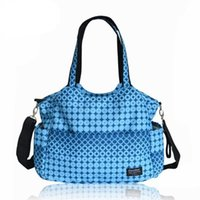 Diaper Bags Baby Nappy Mummy Mother Maternity Bag Multi-purpose Round Grain Waterproof Multifunction Package To Be Produced Bulk