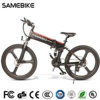 [EU-Aktie] selbebike LO26 500W Radfahren Elektrische Fahrrad 21 Geschwindigkeit faltbar 48V 10.4ah 30km / h Max Ebike MTB Fahrrad