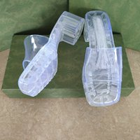 새로운 여성 고무 슬라이드 샌들 플랫폼 샌들 하이힐 슬리퍼 chunky 하단 샌들 야외 해변 플립 플롭 파티 신발 사탕 9 색 267