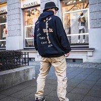 21SS Mode Vintage Hohe Qualität Herbst Herbst Winter Sweatshirt Drucken Liebhaber Männer und Frauen Freizeit