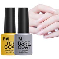 Gel per unghie Polish UV Polish Lungation Top / Base Coat Soak Off Vernish per Manicure Pedicure Make up Art