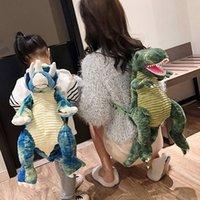 Plüschspielzeug Simulation Big Dinosaurier Kinderrucksack Kreative Cartoon Spielzeug Dinosaurier Tasche